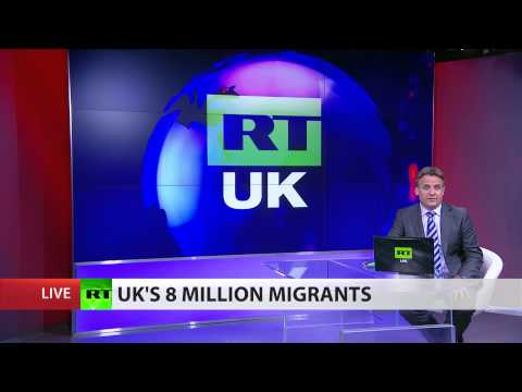 'No end to migrant flow' 8 million in UK foreign-born