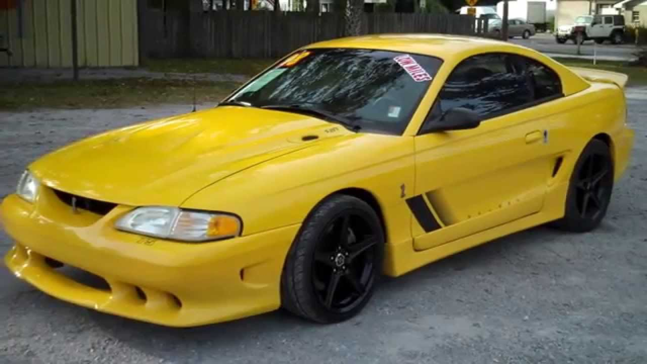 1998 ford mustang cobra saleen for sale leisure used cars 850 265 9178 youtube