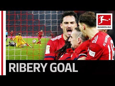 Ribery Scores Late Winning Goal and Bayern Burst into Crazy Celebrations Mp3