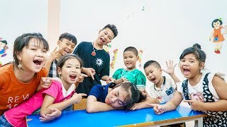 Kids Go To School | Chuns And Friends Learn Disrupt The Teacher Whole Class Is Punished