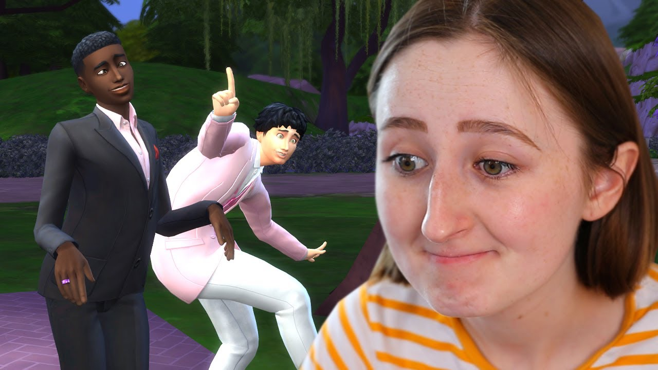 it's impossible to have a successful sims wedding