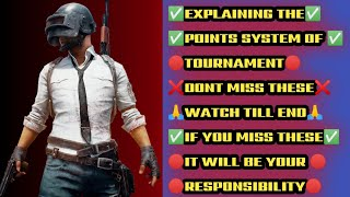 FREE TOURNAMENT| PUBG MOBILE | RS.2500 | EXPLAINING POINT SYSTEM | WATCH TILL END | TOXIC REX