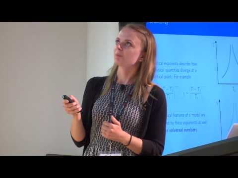 Lauren Hayward Sierens - Universal quantities from entanglement entropies