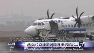 VARŞOVIA, O NOUĂ DESTINAŢIE DE PE AEROPORTUL CLUJ