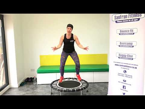35 minute Bounce Fit Workout (Rebounding)