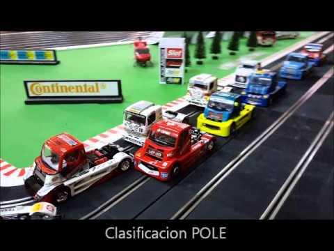 """Carrera de Camiones """"Trucks"""" de Slot 10 de enero 2016 SpeedSlot"""