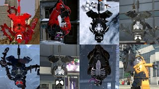 All Symbiotes in Lego Videogames!