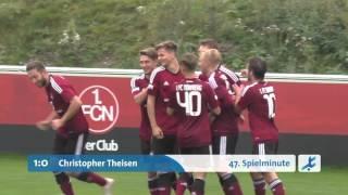 1.FC Nürnberg II - Viktoria Aschaffenburg (Regionalliga Bayern 15/16, 15. Spieltag)
