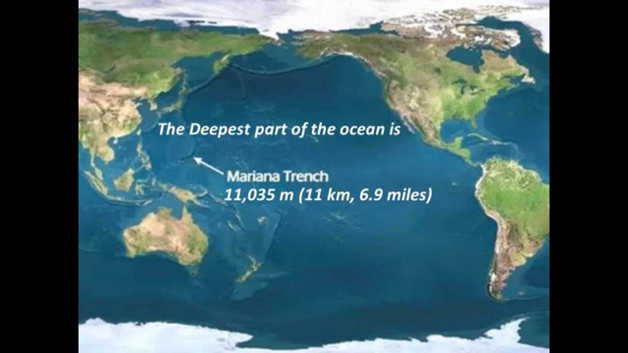 a geographical overview of the deep ocean trenches
