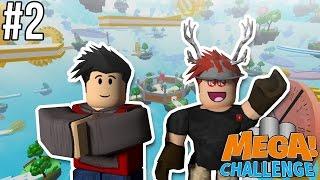 STUPID SLOPE JUMP!! | Roblox Mega Challenge w/ Ezy | [NEW] #2