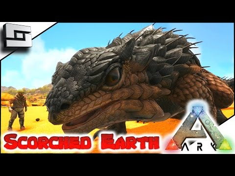 ARK: Scorched Earth - THORNY DRAGON! E4 ( Scorched Earth Map Gameplay )
