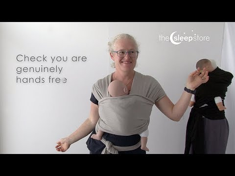 ecfe99ecd8f Stretchy Wrap Safety   How to Tie
