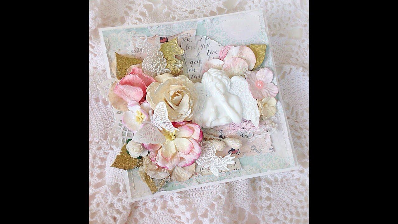 Года свадьбы, открытки с ангелом скрапбукинг