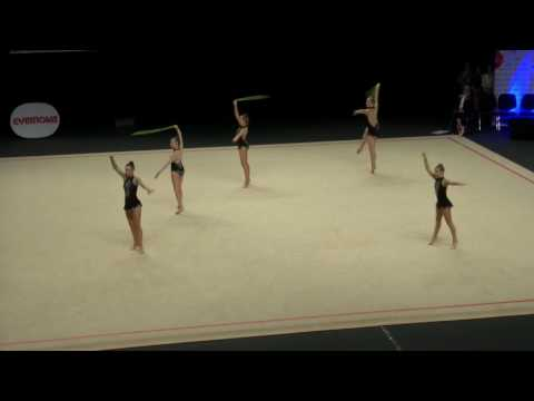 City of Canterbury - Gold - Junior Group Ropes - Rhythmic Gymnastics 2017