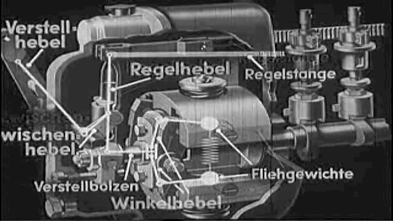 Bosch Lehrfilm - Die Einspritzpumpe - YouTube