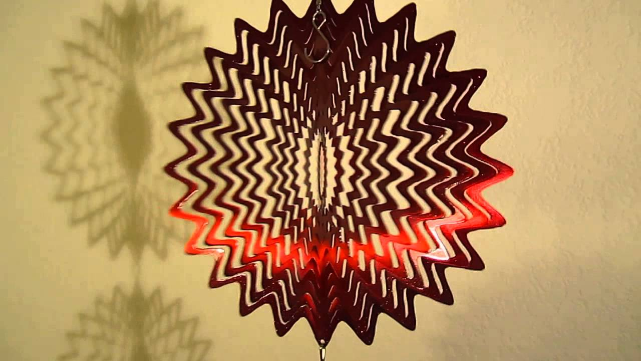 WorldaWhirl Whirligig 3D Wind Spinner View Improved Hand Painted ...