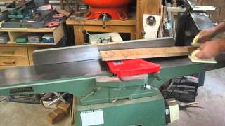Milling Figured Wood On The Jointer Planer To  Avoid Kick Back