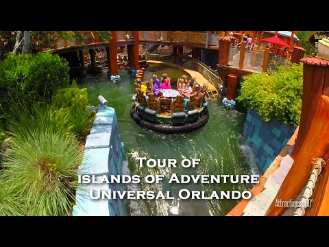 Full Tour of Universal