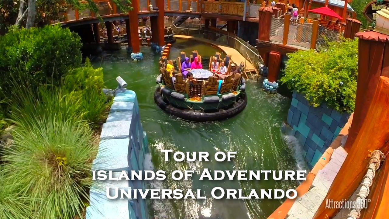 Full Tour Of Universal S Islands Of Adventure Universal Orlando Youtube