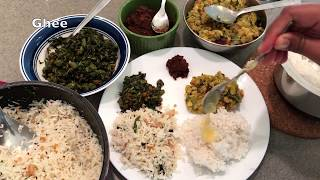 Friday lunch routine | 30 minute Indian lunch menu | no onion no garlic recipes | lunch routine