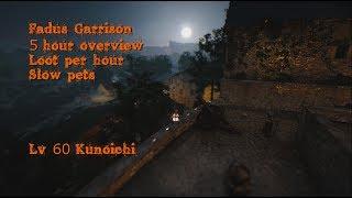 5 Hours at Fadus Garrison overview - Black Desert Online [Kunoichi]