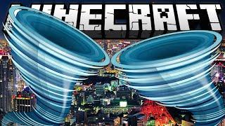 TORNADO MOD VS. TOKYO CITY | Minecraft: Monster vs. Maps | [Deutsch | HD]