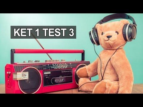 Аудио английский для начинающих диалоги, английский язык аудио бесплатно, KET 1 Test 3