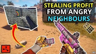 Gambar cover HIJACKING A RAID From ANGRY RICH KIDS Makes Me A NICE PROFIT!! - RUST SOLO