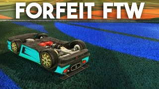 Rocket League Gameplay :: Forfeit FTW