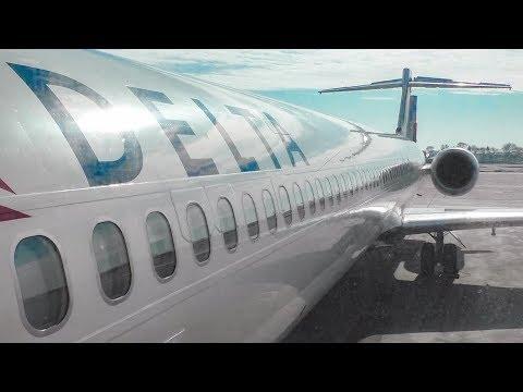 TRIP REPORT | Delta Air Lines MD-90 (MAIN CABIN) Minneapolis To Atlanta