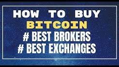 How to BUY/USE Bitcoin? Best Brokers & Exchanges EXPLAINED ⌚⌛