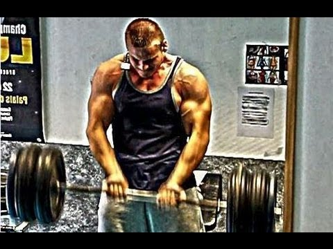 "Back and Biceps Routine for Tall Guys (Thomas 6""4 natural amateur bodybuilder)"