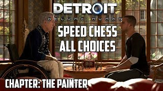 Detroit: Become Human | Choosing Speed Chess - All Outcomes!! (The Painter) thumbnail