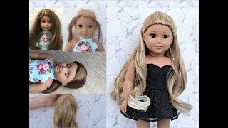 American Girl Ariana Grande Doll ~ Fixing Up A Retired AG Doll!
