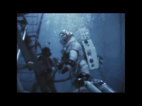MSC (PTL) - Astronaut Armstrong Underwater EVA Training 1/6G