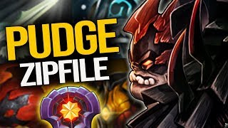 INSANE PUDGE MID!!! THE ENEMY HAS NO CHANCE AGAINST THIS MASTER OF PUDGE | Pudge Official
