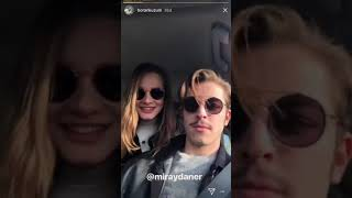 Miray Daner Boran Kuzum Kamera Arkası Instagram Hikayesi Vatanım Sensin