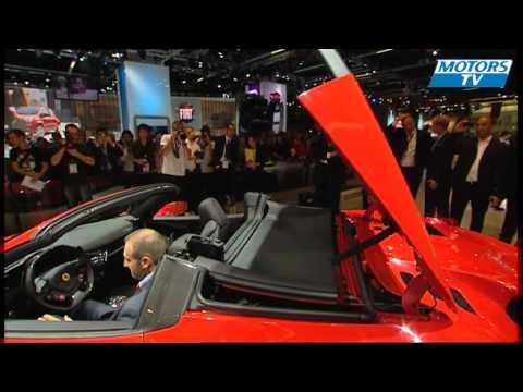 Ferrari 458 Spider, Frankfurt Motor Show 2011