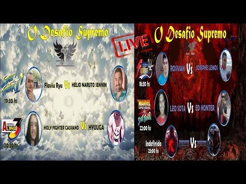 ★  Live - Campeonato Desafio Supremo ★ Arcade Masters - Parte 2 ★
