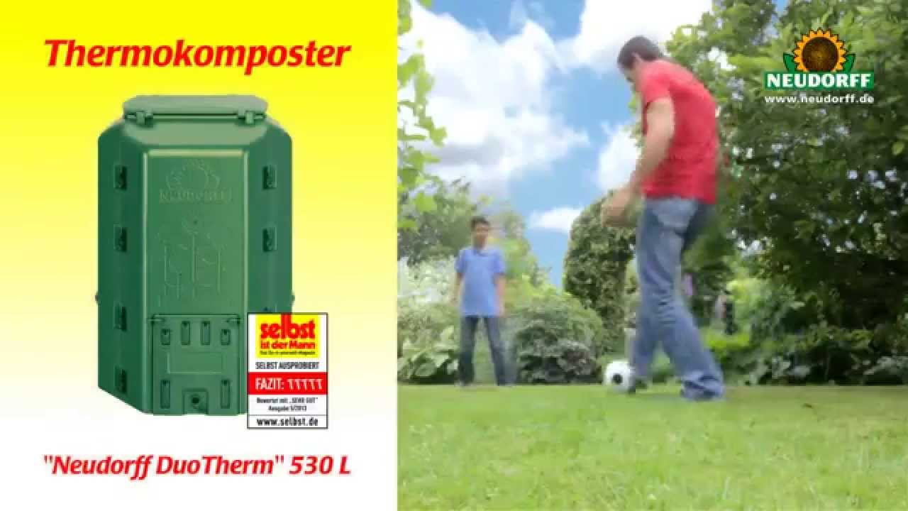 Thermokomposter Neudorff Duotherm 530 L Youtube