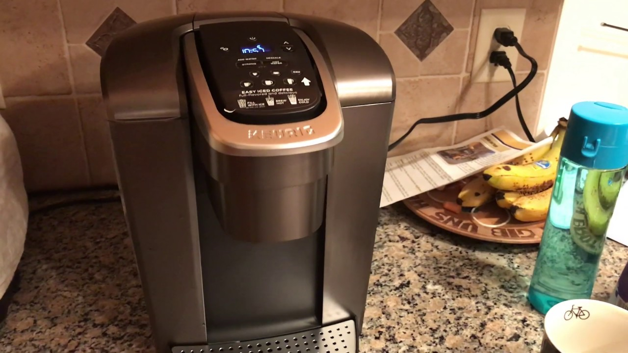 Keurig K-Elite Set Up & Review