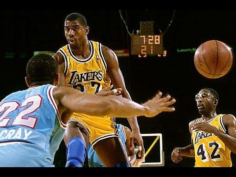 Magic Johnson Career Mix Fly HD YouTube