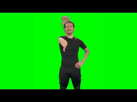 Sergio Ramos Green Screen