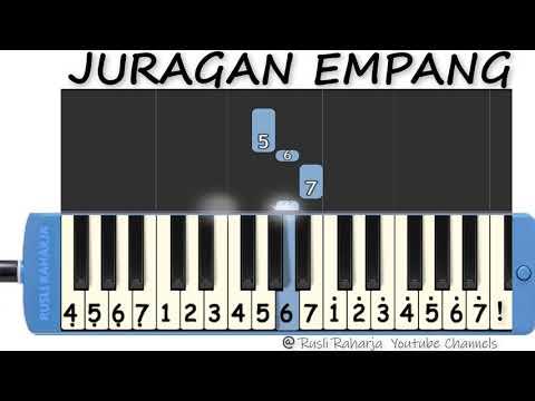 Juragan Empang Not Pianika Youtube