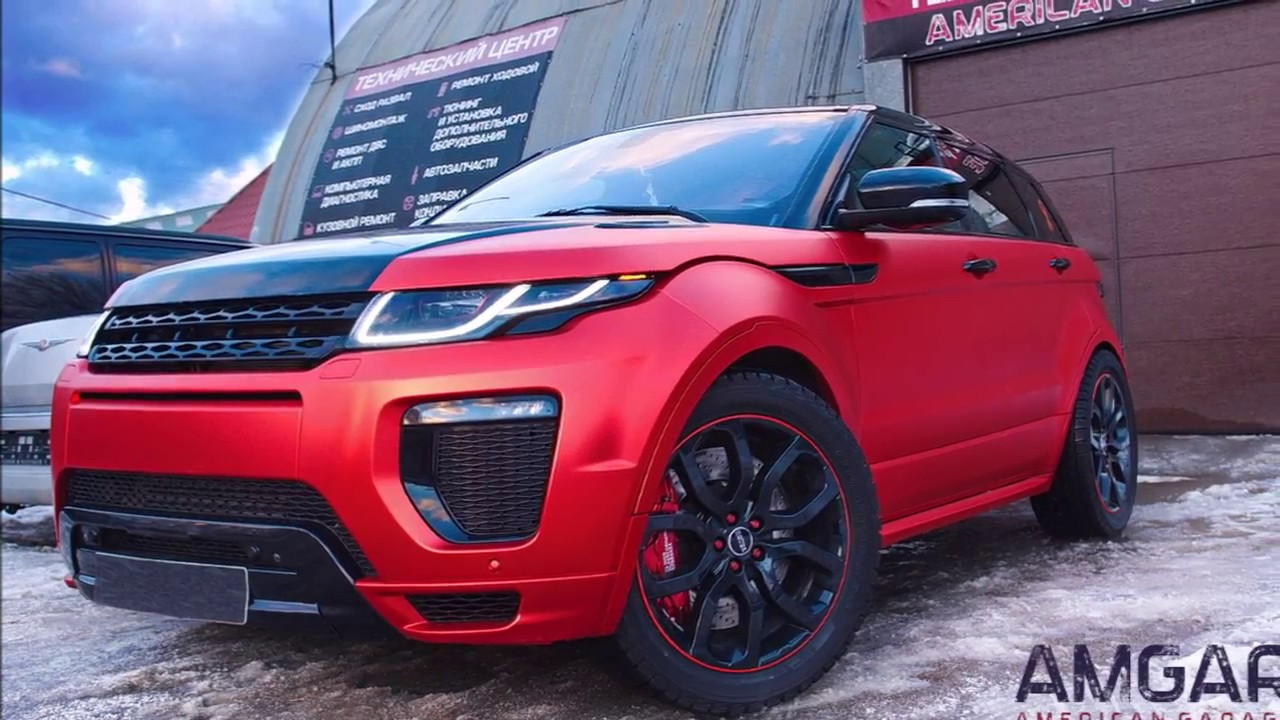 Тормозная система Тюнинг тормозов Land Rover Range Rover Evoque от hp-brakes.ru