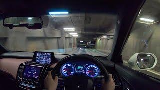 【試乗動画】2018 新型 トヨタ クラウン ハイブリッド 2.5 RS Four 夜間試乗