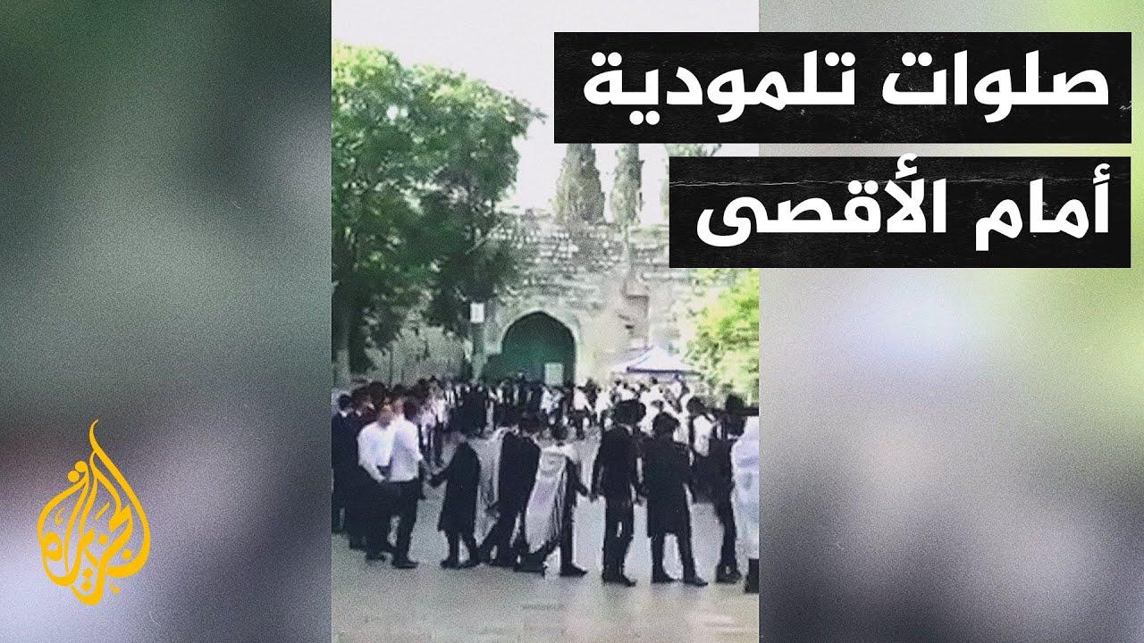 شاهد| مستوطنون يقتحمون مقبرة باب الرحمة المحاذية للمسجد الأقصى  - نشر قبل 2 ساعة