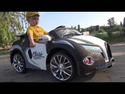 Детская машинка на аккумуляторе/ Бугатти Вейрон / Bugatti Veyron