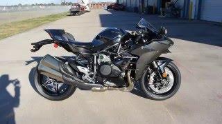 $26,000:  2016 Kawasaki Ninja H2 Supercharged Overview and Review