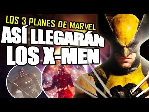 ¡CONFIRMADO! Los mutantes YA EXISTÍAN en el UCM y Los TRES Planes CROSSOVER X-MEN  | Explicación